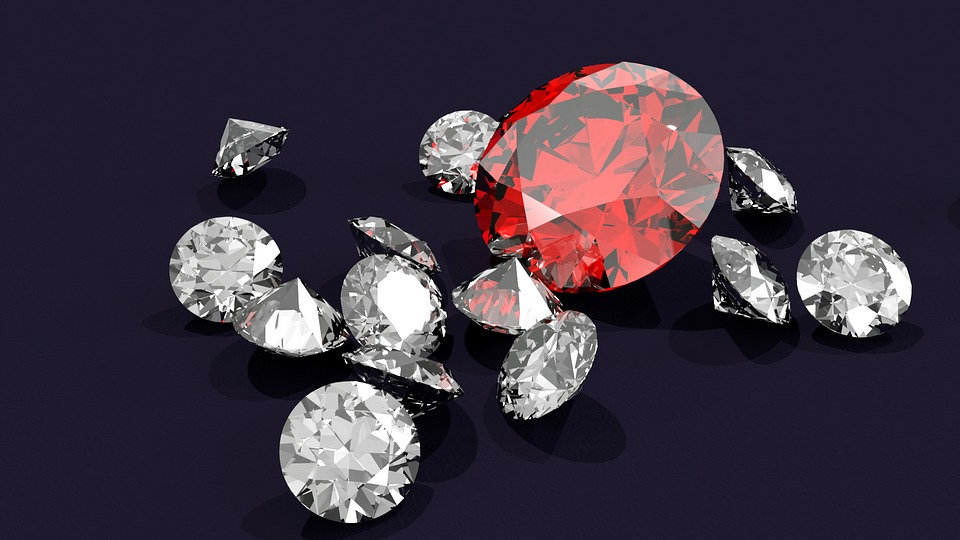 宝石の集積地